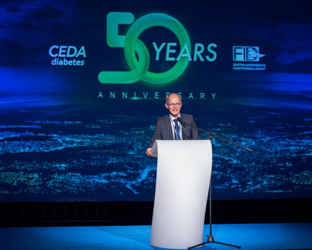 Prof. T. Stulnig (Austria), CEDA President and Congress President 2022