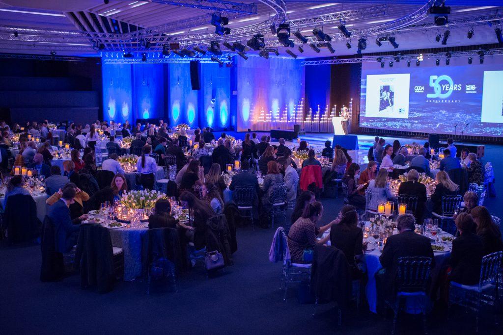 Dinner symposium celebrating 50 years of CEDA/FID