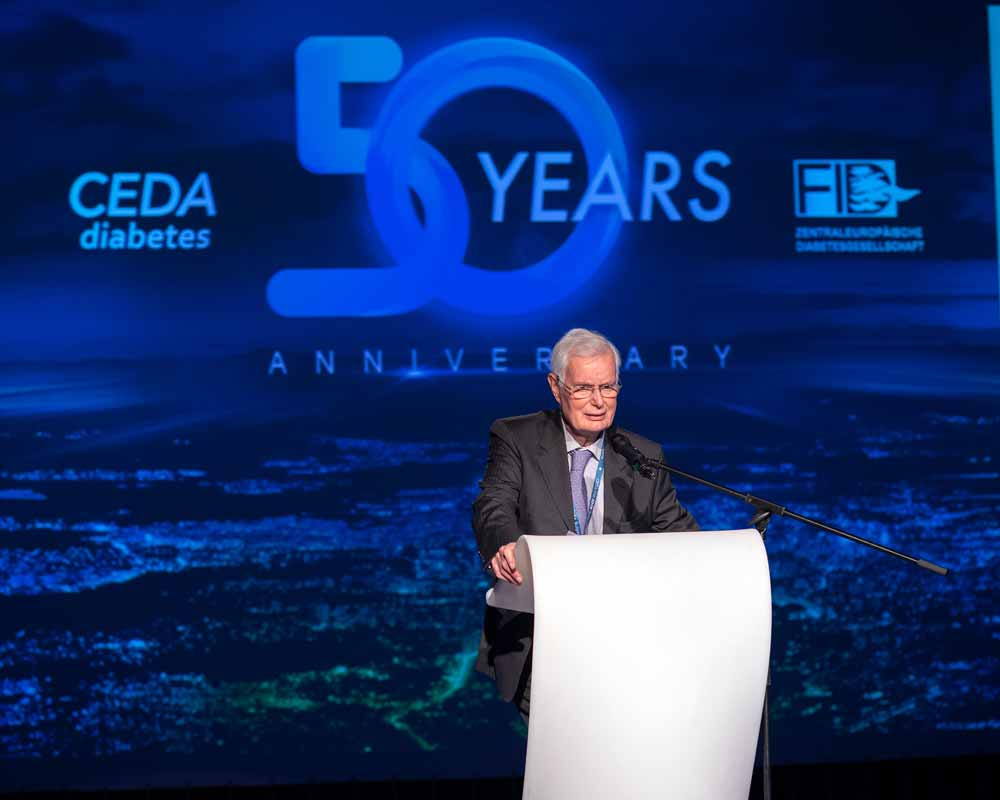 Dinner lecture from Prof. Dr. Werner Waldhäusl at the CEDA congress in Sofia 2019